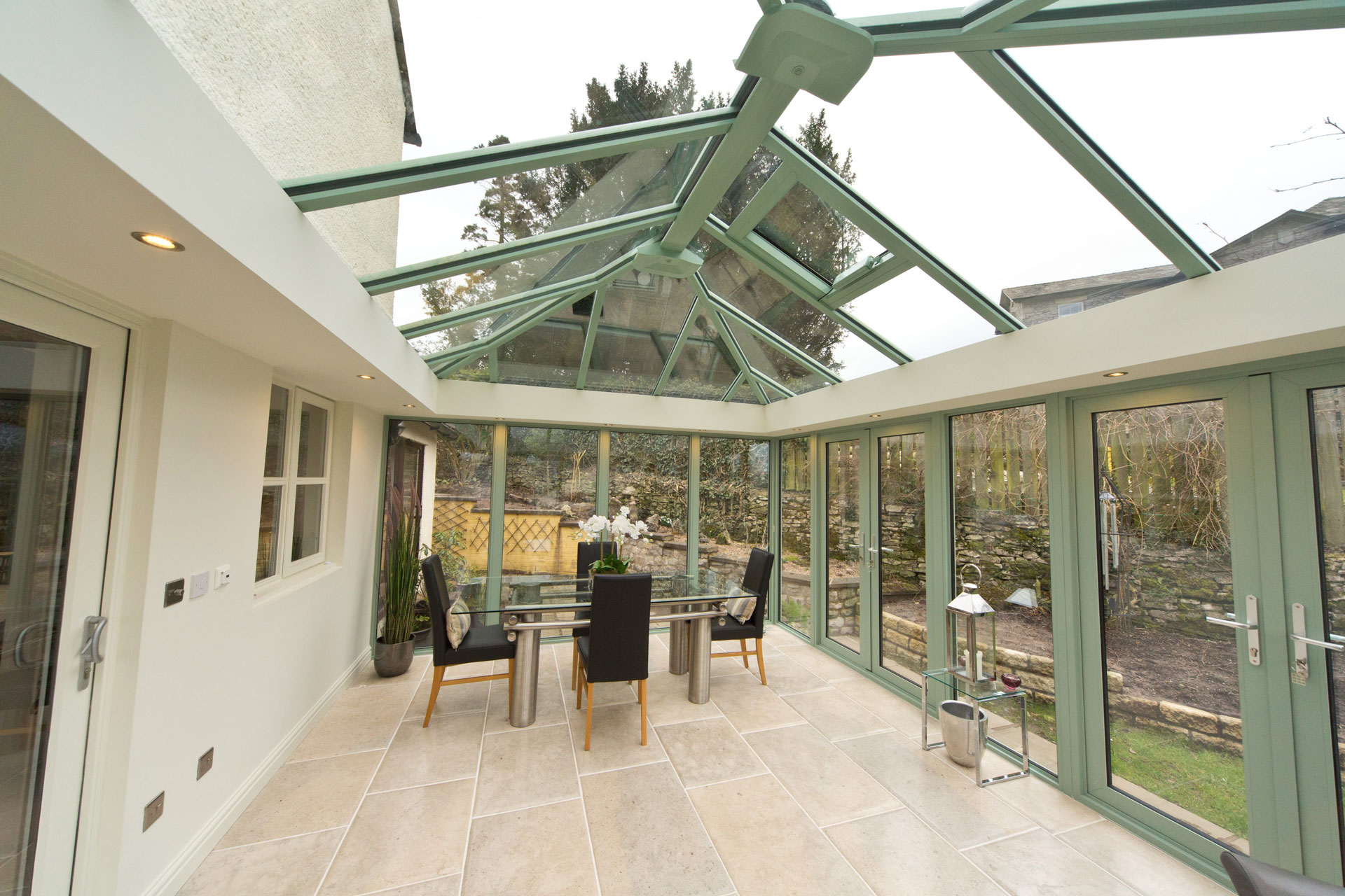 Designer Conservatory Uk Insulated Columns Double