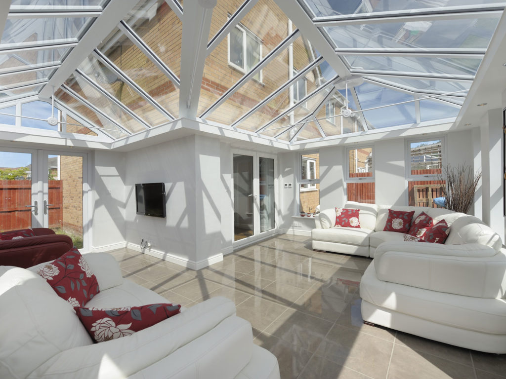 Glass Roofs in Leicester