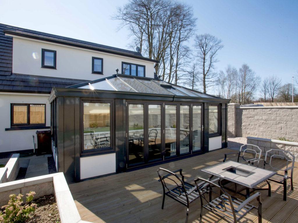 Aluminium roofs Leicester