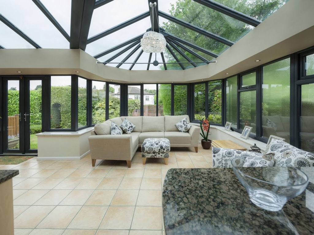 Glass Roof Conservatory Leicester